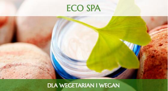 Reklama hotelu spa dla wegetarian i wegan
